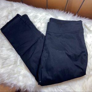 Old Navy Side Zip Capris Work Pants 18